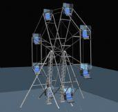 摩天轮3D模型