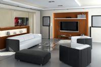 商务型客厅3D模型