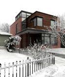 私人豪华小别墅整体效果3D模型(带材质)