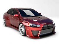 三菱 Lancer Evolution 跑车3D模型