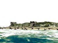 抢滩登陆场景3D模型