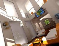 现代风格会客厅3D模型
