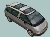 丰田商务车3D模型