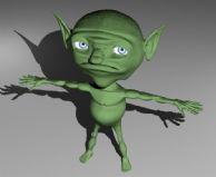 精灵怪兽3D模型
