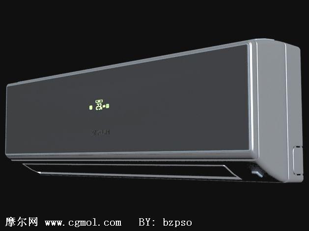 三星空调3d模型图片