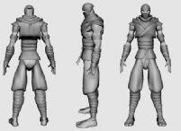 忍者刺客3D模型