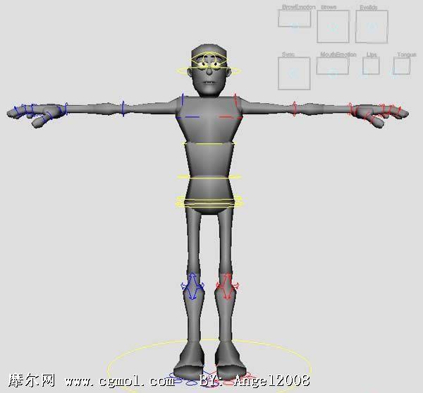 为什么用maya建的人物模型导入到zbrush中那么小