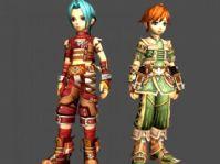可爱卡通游戏角色3D模型