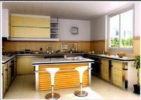 时尚厨房3D模型(带材质)