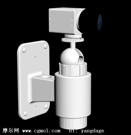 摄像头3D模型