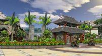 中式古代街道场景3D模型