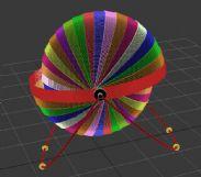月食展示仪3D模型