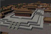 紫禁城场景3D模型
