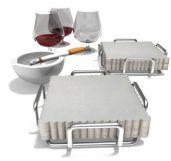 烟头,纸巾,酒杯3D模型