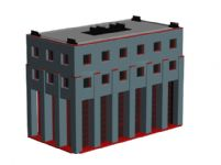 工厂建筑3D模型
