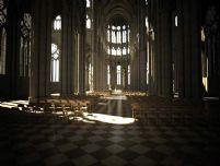 高质量大型教堂整体效果3D模型(带贴图)