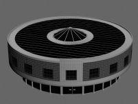 环形体育馆,体育场3D模型
