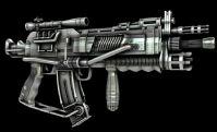 未来先进无敌机枪3D模型