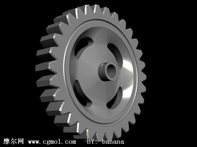 齿轮3D模型