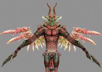 最终幻想12魔蝎座愤怒之灵帝3D模型