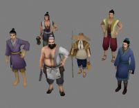 仙剑即墨村民3D模型
