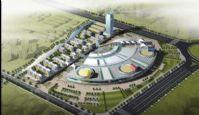 华东塑料城鸟瞰模型