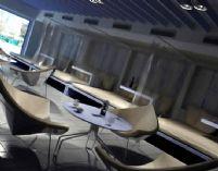 时尚餐厅3D场景模型