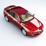 豪华小汽车3D模型