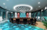 会议室,会议厅3D模型