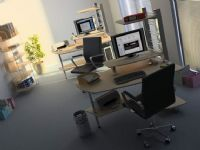 办公室3D模型(含材质贴图)