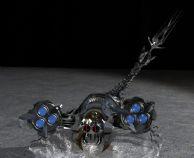 已经绑定了骨骼,并带简单动画的机械蝎子3D模型