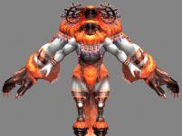 最终幻想12星座之白羊座魔人的3D模型