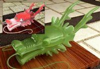 精细玉质龙头3D模型