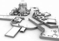 海边的码头,maya场景模型