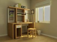 电脑桌,办公桌,文件柜,室内场景3D模型
