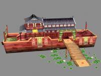 仙剑 陈州城 歌舞游船3D场景