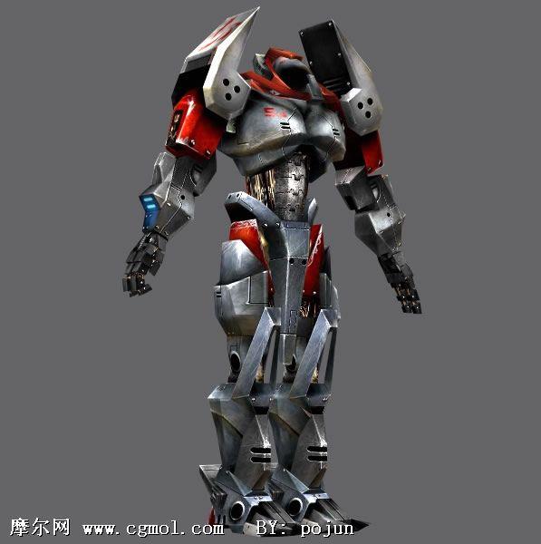 3dmax机器人模型_3dmax机器人模型制作_小制作大全