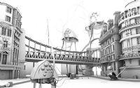 未来城镇场景3D模型