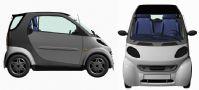 奔驰Smart Passion汽车3D模型
