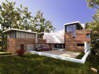 时尚阳光别墅整体效果3D模型