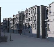 Maya城市场景3D模型