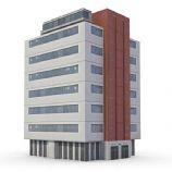 一栋大楼,楼房,房子3D模型