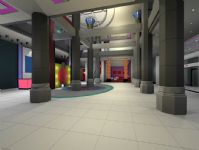 大型酒店场景3D模型