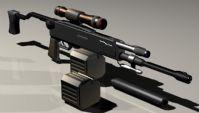 冲锋步枪3D模型