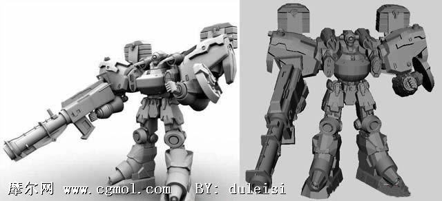 机器人 人物角色 王国3d模型库3d   maya机器人模型,机械角高清图片