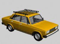 老款汽车,轿车3D模型