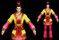 《赤壁》男性春节套装3D模型