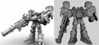 maya机器人模型