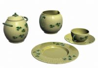 瓷盘,瓷杯,瓷器3D模型