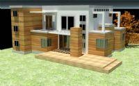 现代别墅建筑3D模型
